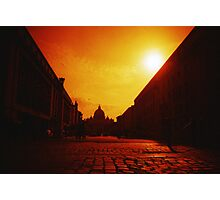 Red Vaticano - Lomo Photographic Print