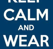 Keep Calm and Wear a Fez Sticker