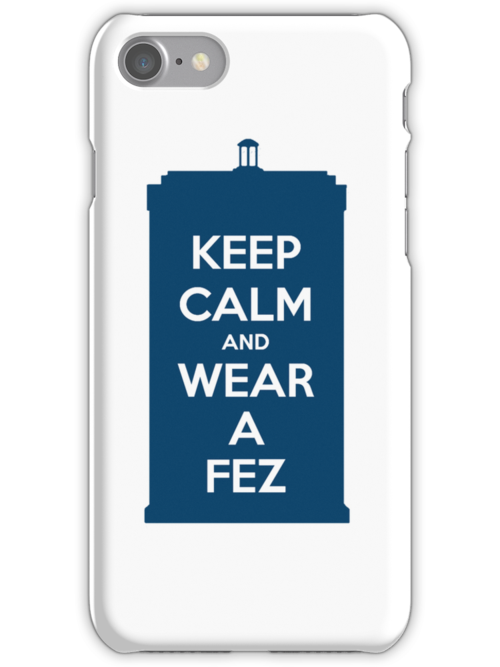 Keep Calm and Wear a Fez by roisinmcgee