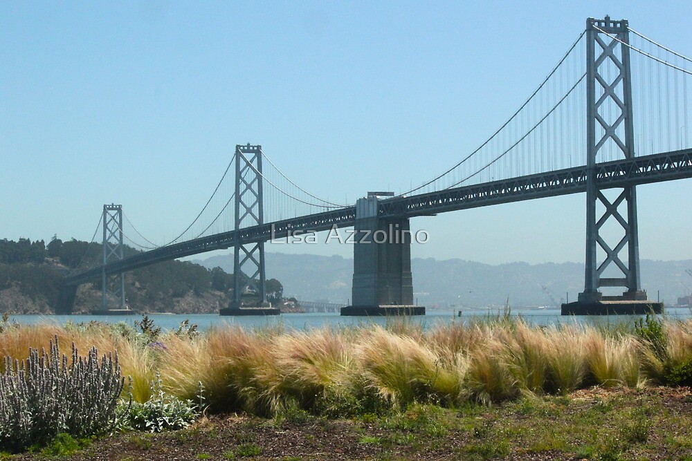 Bay Bridge by Lisa Azzolino
