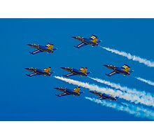 Team Breitling L-39C 7-ship Formation Photographic Print