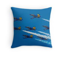 Team Breitling L-39C 7-ship Formation Throw Pillow