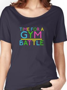 Time For A Gym Battle - Neon Women's Relaxed Fit T-Shirt