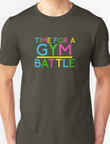 Time For A Gym Battle - Neon T-Shirt