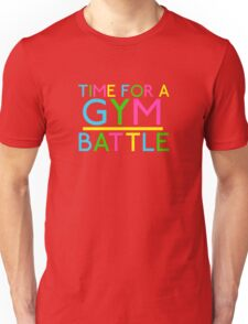 Time For A Gym Battle - Neon Unisex T-Shirt