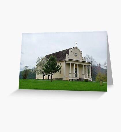 Coeur d' Alene's Old Mission Greeting Card