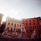 Fountain of Neptune - Lomo by chylng