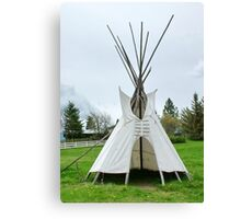 Wigwam in Idaho Canvas Print