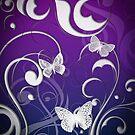 Butterfly swirl by Fun Kitten Studios