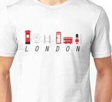London in 6 Letters Unisex T-Shirt