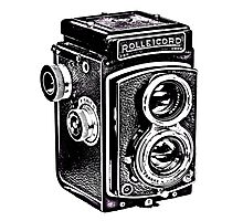 Rolleicord Twin Reflex Camera Photographic Print