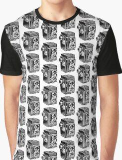 Rolleicord Twin Reflex Camera Graphic T-Shirt