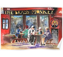 Ireland - The Brass Monkey in Howth Poster