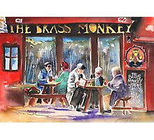 Ireland - The Brass Monkey in Howth Photographic Print