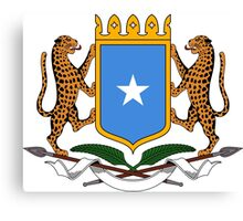 Coat of Arms of Somalia  Canvas Print