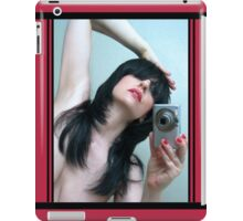 Mirrored Expressions 1 - Self Portrait iPad Case/Skin