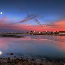 Ilha de Faro Sunset by manateevoyager