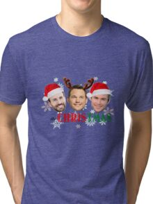 Its CHRIStmas (Marvel only) Tri-blend T-Shirt