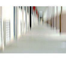 When Danika Through a Hallway Goes Photographic Print