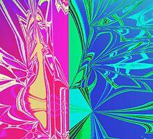 Abstract Spider Web by KrazeeKustom