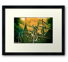 The difference between stupidity and genius is that genius has its limits. Albert Einstein...:) Framed Print