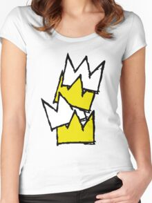 Stacked Crowns Women's Fitted Scoop T-Shirt