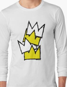 Stacked Crowns Long Sleeve T-Shirt