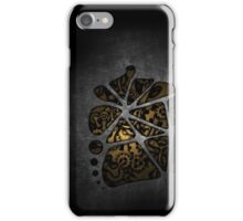 Dark steampunk cogwheel gears iPhone Case/Skin