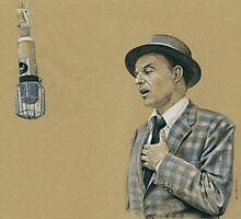 Frank Sinatra by Alexander Bowden