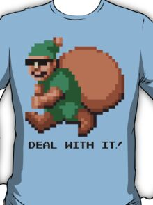 Deal With It! Green Elf T-Shirt