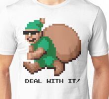 Deal With It! Green Elf Unisex T-Shirt