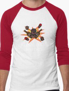 I Love Cheap Whiskey! Men's Baseball ¾ T-Shirt