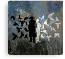 Birds, BBC Sherlock Metal Print