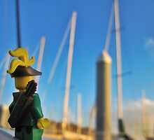 Many Masts by bricksailboat