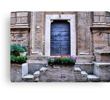 One-Pienza, Italy Canvas Print