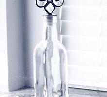 Day 20 - Fleur de lis bottle by leapdaybride