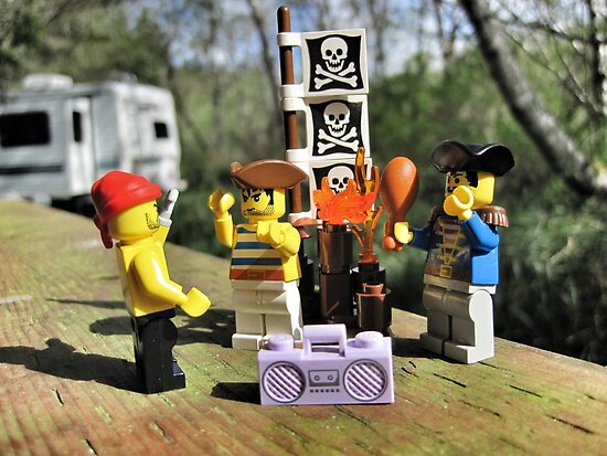 Pirate Practice: RV Camping by bricksailboat