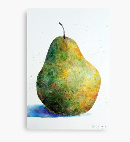 Descriptive Fruit Canvas Print
