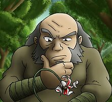 Uncle Irohs dilemma - Avatar the last airbender by Real-Entity