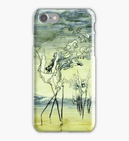 Creatures of the pen iPhone Case/Skin