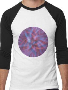 Psychedelic Swirl Men's Baseball ¾ T-Shirt