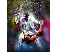Bruce Springsteen and Clarence Clemons Photographic Print