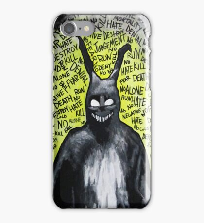Why are you wearing that stupid man suit? iPhone Case/Skin