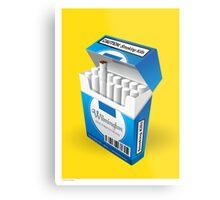 Smoking Kills Poster Metal Print