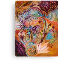 The Stream of Life diptych, part 2 Canvas Print