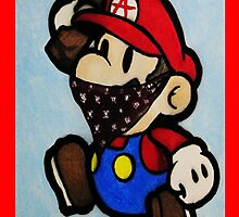 Anarchist Mario by azummo