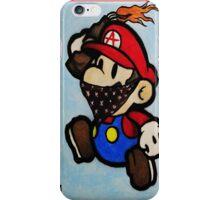 Anarchist Mario iPhone Case/Skin