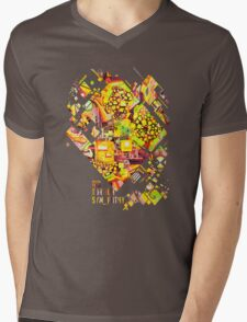 Distortion Sympathy - Watercolor Painting Mens V-Neck T-Shirt