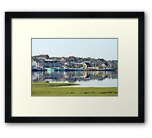 Yarmouth Harbourfront in June Framed Print