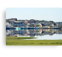 Yarmouth Harbourfront in June Canvas Print